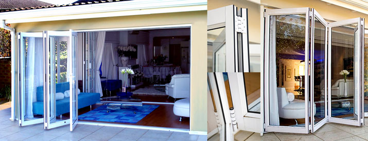 ... traditional patio doors and french doors where openings are greatly restricted due to areas being closed off a set of innovative folding sliding doors ... & Sliding Folding Doors \u2013 Rohit Aluminium